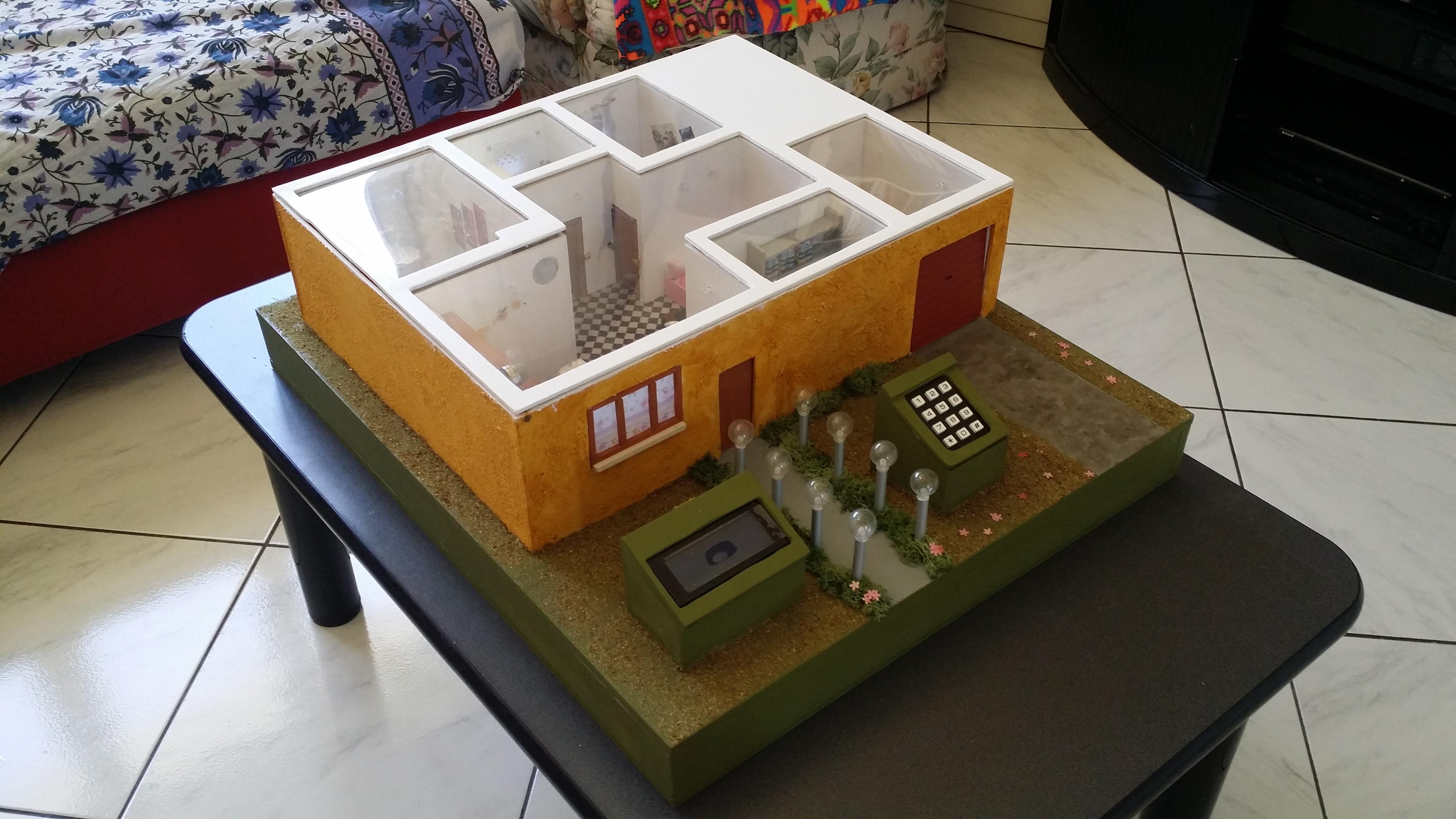 Schema Elettrico Domotica : Casa domotica arduino u michelangelo mezzelani